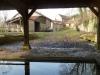 foto van de buitenkant van de watermolen